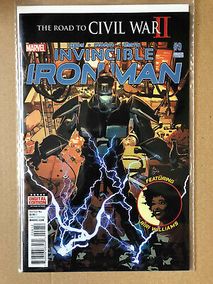 Invincible Iron Man #9 - 2Nd Print - Brand New B&b