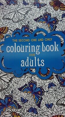 The Second One And Only Colouring Book For Adults Brand New