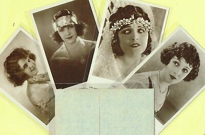 ROSS VERLAG - 1920s Film Star Postcards produced in Germany #906 to #960