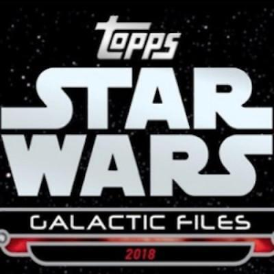 2018 Topps Star Wars Galactic Files Movie Poster Patch/Silks Pick From List
