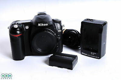 Nikon D50 Digital SLR Camera Body, Black {6.1 M/P} - #5570