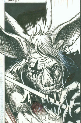 Tim Truman, Grimjack page 4 from Starslayer 14, Buried Past part 3, NO RESERVE!