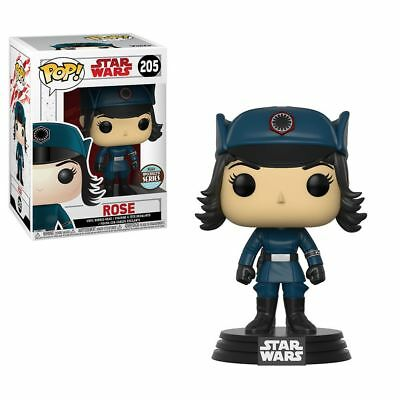Funko Pop 205 Star Wars Last Jedi Rose in Disguise Specialty Series LE Exclusive