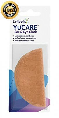 Lintbells Limited YuCare Microfibre Dog & Cat Eye & Ear Cleaner Cloth