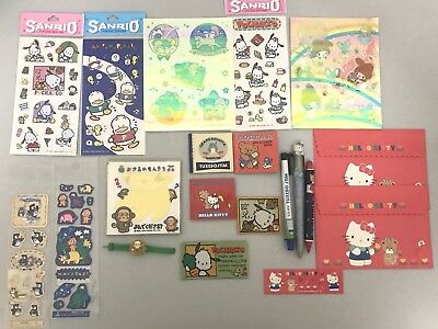 Vintage Sanrio Hello Kitty ~ Mixed Lot of 20 Items Including Monkichi Ring Watch