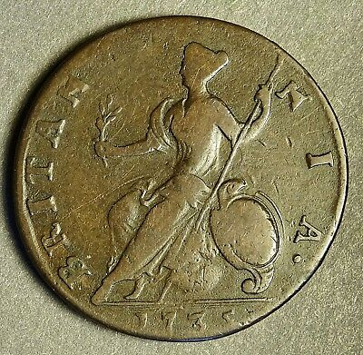 excellent king george iii token dated 1797 sharp details