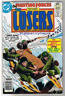 OUR FIGHTING FORCES #173, VF, The Losers, Joe Kubert, 1954, more in store