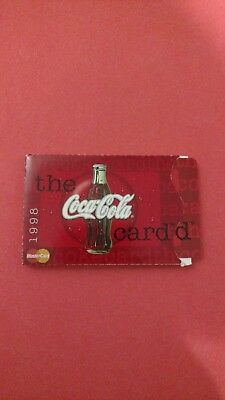 vintage Coca-Cola the card card and holder
