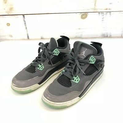 more photos 3c973 9a65f Nike Air Jordan 4 Retro Green Glow (GS) Youth Size 6.5Y 408452-