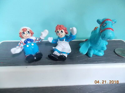 Raggedy Ann and Andy Figures