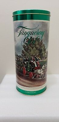 Vintage Empty Barringer Wallis & MannersTanqueray Gin 150th Anniversary Tin