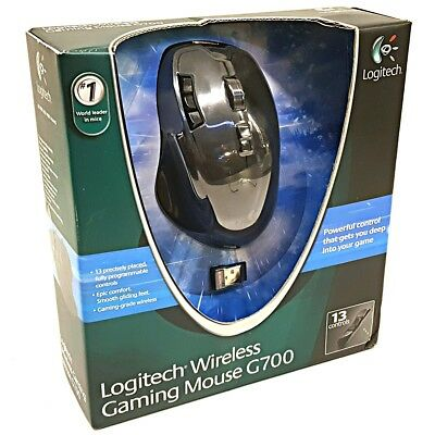 13 programable buttons! Logitech G700 wireless gaming mouse USB G700