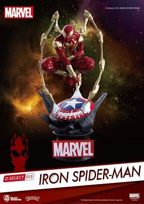 Marvel D-Select PVC Diorama Iron Spider-Man 16 cm - Preorder