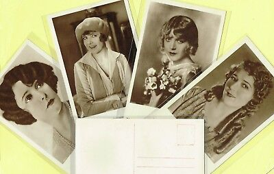 ROSS VERLAG - 1920s Film Star Postcards produced in Germany #1493 to #1540