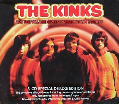 THE KINKS are the village green preservation society (3X CD, special edition)