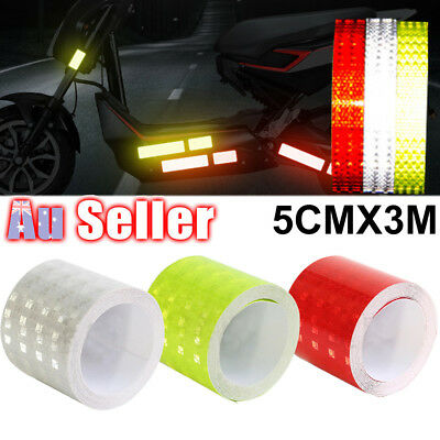 Self Adhesive High Intensity_ Safety luminous Vinyl Stickers Reflective Tape