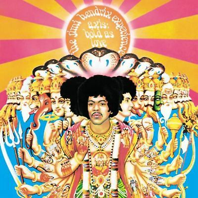 THE JIMI HENDRIX EXPERIENCE axis: bold as love (CD album) psych, classic rock