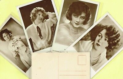 ROSS VERLAG - 1920s Film Star Postcards produced in Germany #1833 to #1929