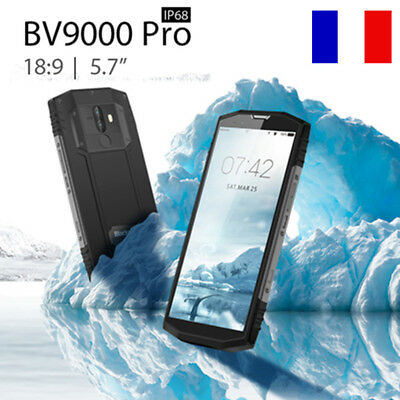 "5.7"" Blackview BV9000 Pro Imperméable 6+128GNFC Android 7.1 Octa-Core 4180mAh FR"