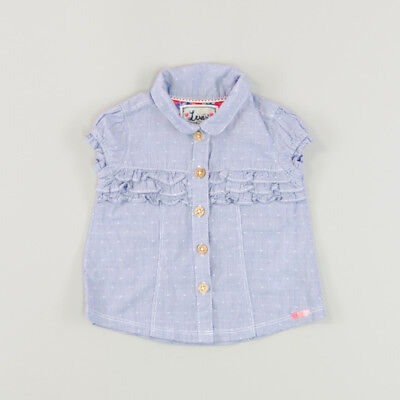 Camisa mil rayas color Azul marca Levis 3 Meses  144674