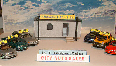 Portable Office / Jackleg Cabin as Car Sales Site or other use Card Kit. 00 /any