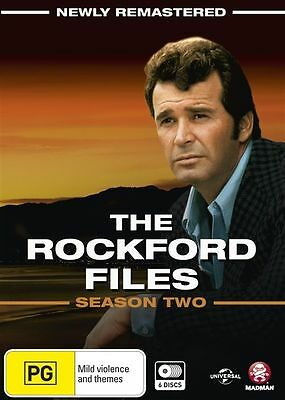 The Rockford Files : Season 2 (DVD, 6-Disc Set) BRAND NEW SEALED