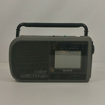 Sony Color Watchman FDL-370 Powers Up Unit Only J5