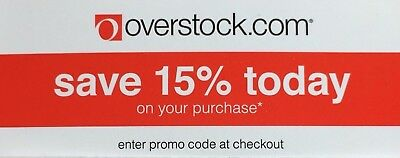 overstock 15 off coupon