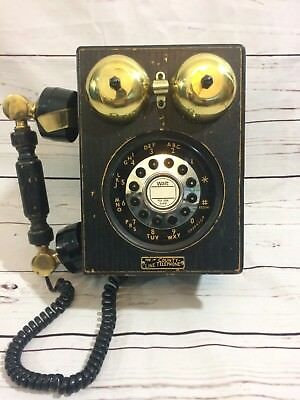 The County Line Telephone VTG Model No HAC 302 Made In Taiwan