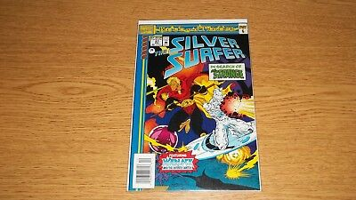 "Silver Surfer Marvel Comics 1987 Series # 87 ""blood And Thunder"""