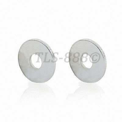 M5 to M16 Flat Washers To Fit Metric Bolts & Screws - Bright Zinc Plated Steel