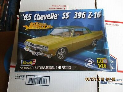 Revell 1965 Chevelle SS 396 Z-16 1/25 scale Kit # 85-4055 factory sealed