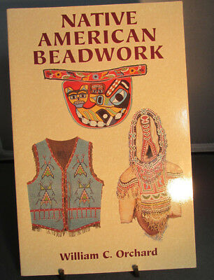 NATIVE AMERICAN Beadwork By William Orchard, 2002, Indian Artifact Reference BK