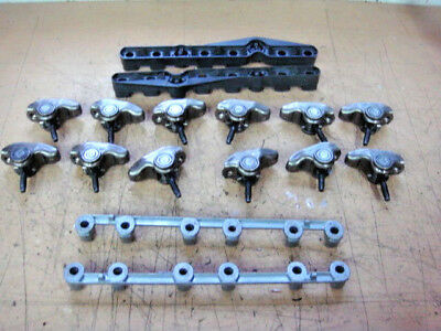 Volvo Penta 4.3L  GM  V6   Roller Rocker Arms - Lifter Guides - Supports