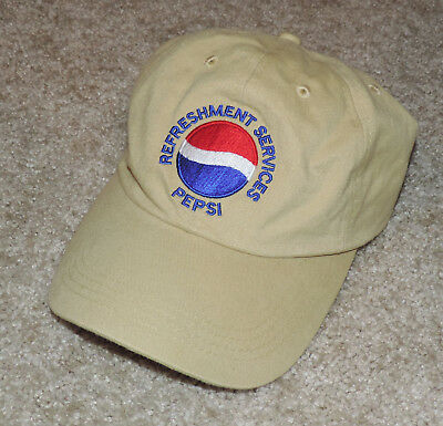 Pepsi Refreshment Services Baseball Hat Cap Adjustable Nice