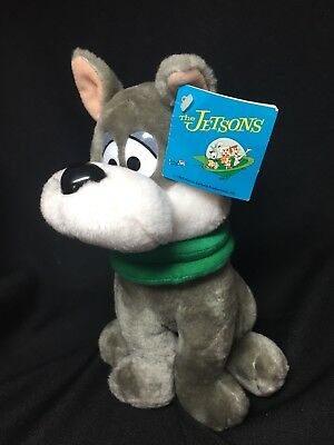 "Vintage Hanna Barbera The Jetsons Dog Astro 10"" Plush Stuffed Toy Dakin 1985 NWT"