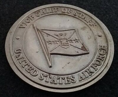NEVER SEEN VINTAGE USAF Air Force V Chief of Staff 4 Star General Challenge Coin