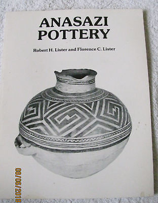 Anasazi Pottery Ancient Ones Native Indian Reference Guide Book Illustrated