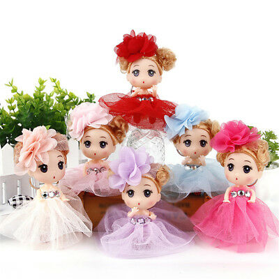 12cm Mini Ddung Doll Cute Toy Confused Doll Key Chain Phone Pendant Ornament TEU