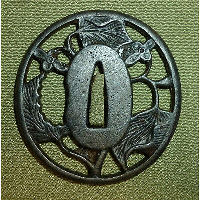 Japanese Samurai Sword Tsuba for Katana 294-09