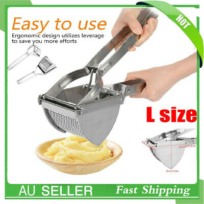 Large Commercial Quality Potato Ricer Fruit Press and Vegetable Masher AU Ship