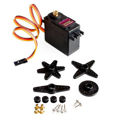 4PCS MG996R Metal Gear MG995 Digital Torque Servo For Futaba JR RC Truck Racing