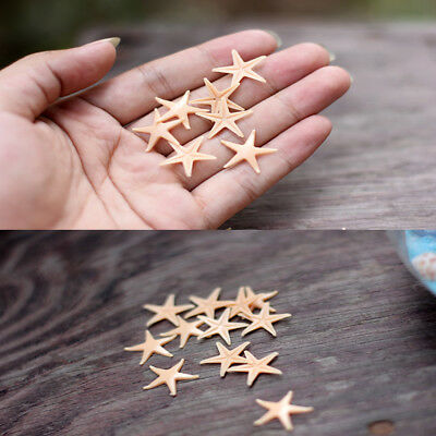 50pcs Mini Starfish Sea Star Shell Beach Wedding Craft DIY Making Decor N6A8M