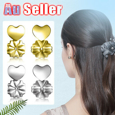 Earrings Ear Hypoallergenic Fits Magic Bax Backs Studs Auxiliary Support Lifts