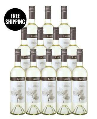 Kapuka Marlborough Sauvignon Blanc 2016 (12 Bottles)