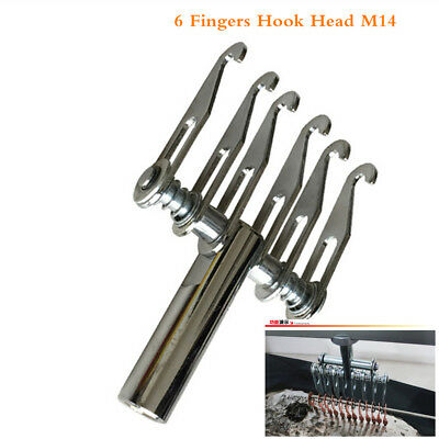 Dent Puller 6Fingers Hook Head M14 Thread Dent Pulling Claw Paw for Spot Welding