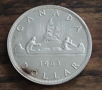 1963 Canada Silver Dollar PL Proof Like