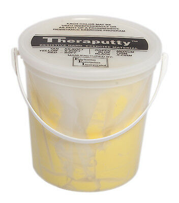 CanDo Scented Theraputty Exercise Material - 5 lb - Banana - Yellow - X-Soft