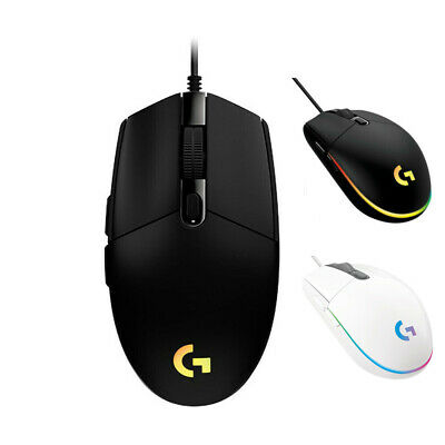 Logitech G102 G203 Prodigy Gaming Mouse RGB 6 Programmable Buttons 8000 DPI±
