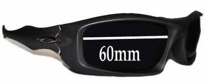 727ebf4bbb3df SFx Replacement Sunglass Lenses fits Oakley Monster Pup - 60mm wide